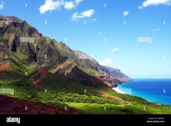 Kalalau Valley Hawaii Stock &