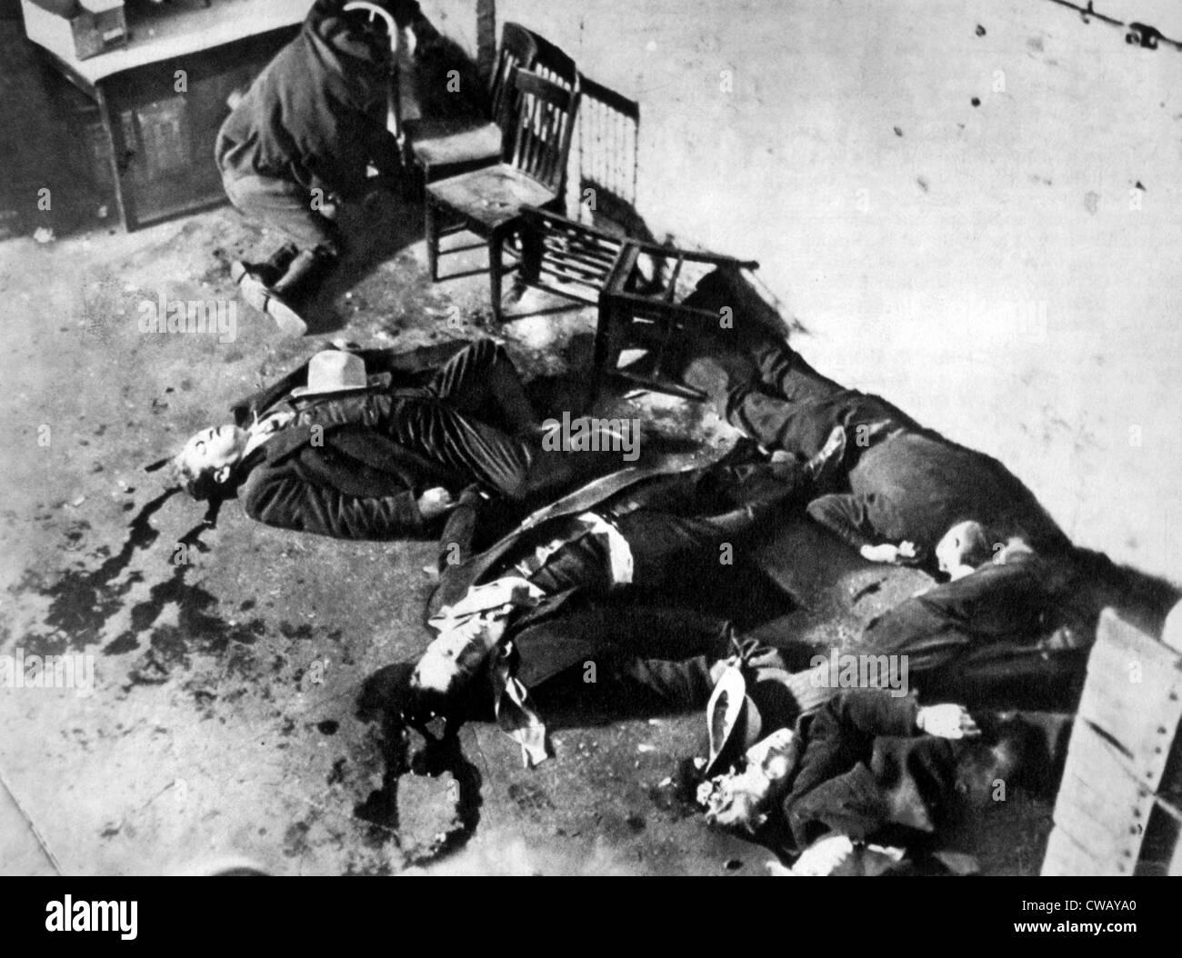 St Valentine S Day Massacre Worksheet
