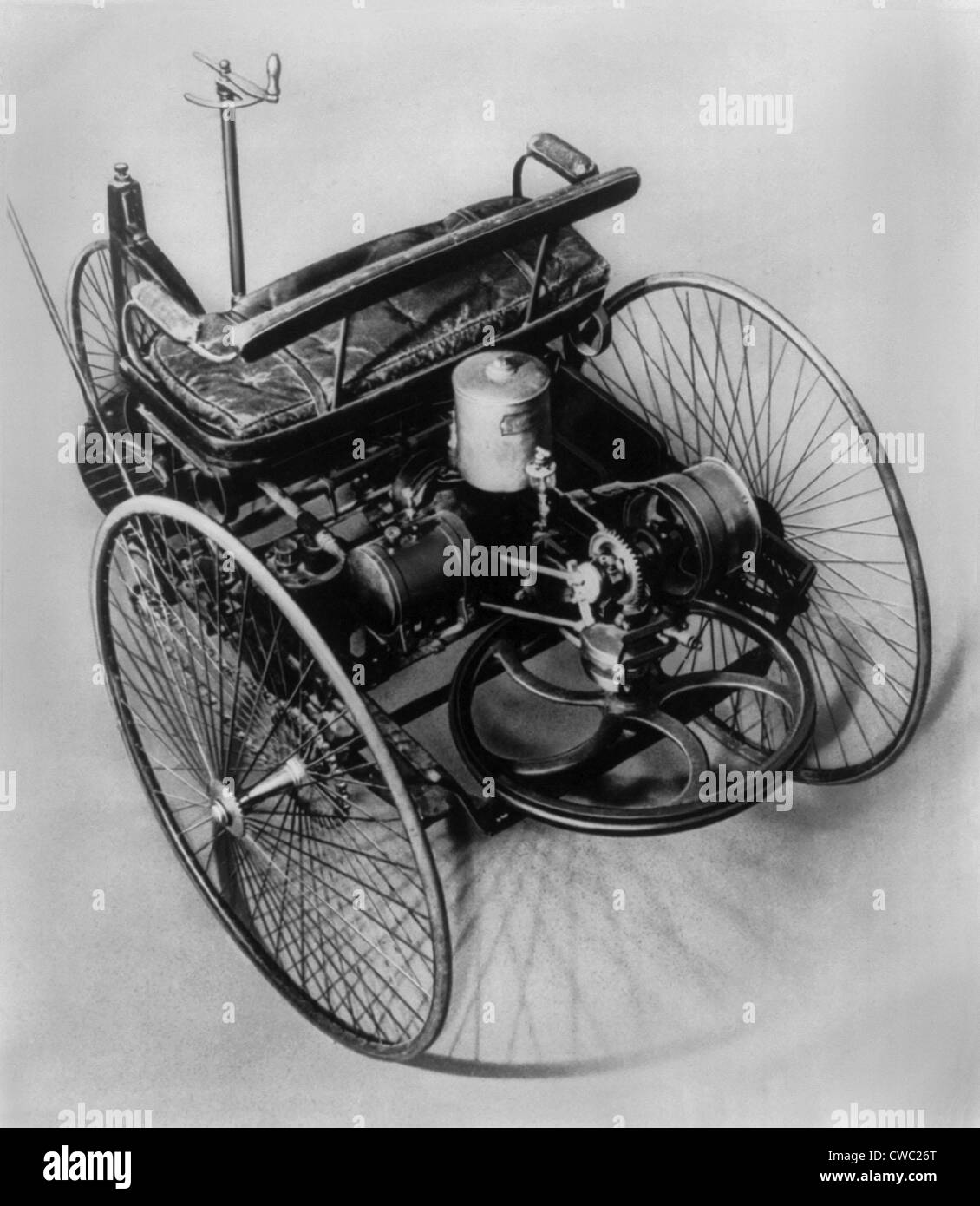The First Internal Combustion Engine