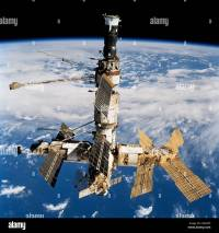 Russian Space Station Mir. Photo was taken by the crew of ...