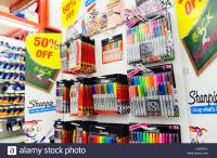 Back to school supplies for sale in a Staples store in ...