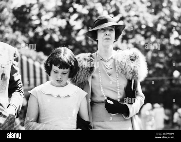Gloria Vanderbilt & Harry Payne Whitney Gertrude Stock Royalty Free