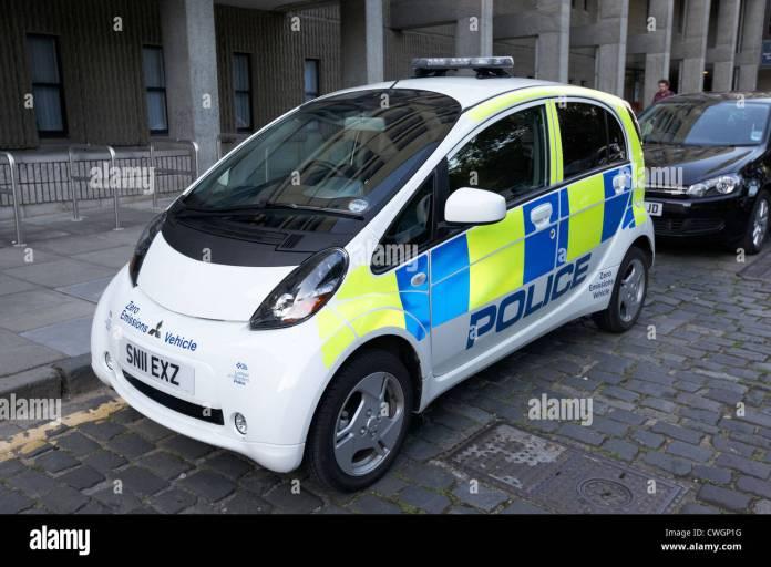 lothian and borders police zero emissions electric vehicle edinburgh
