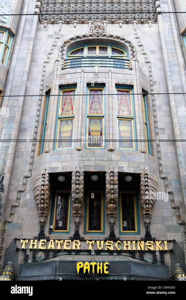 Tuschinski Theatre Pathe Cinemas Cinema Front Facade Stock 50252219 - Alamy