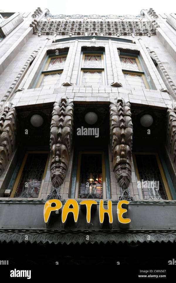 Tuschinski Theatre Pathe Cinemas Cinema Front Facade Stock Royalty Free 50252223