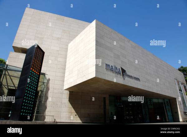 Malba Museum Of Modern Art Buenos Aires Argentina Stock