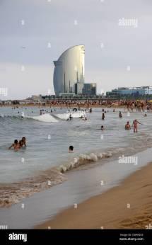 Barcelona Beach Stock &
