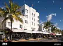 Outdoor Cafes Beacon Hotel Ocean Drive South Beach Miami