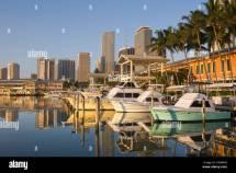 Bayside Marketplace Downtown Miami Stock &