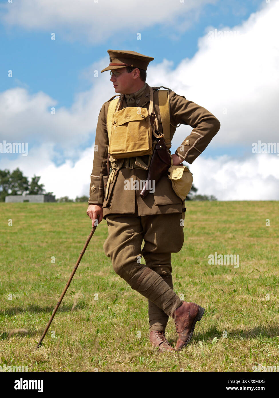 A scene from an historical enactment society's recreation of The Stock Photo - Alamy