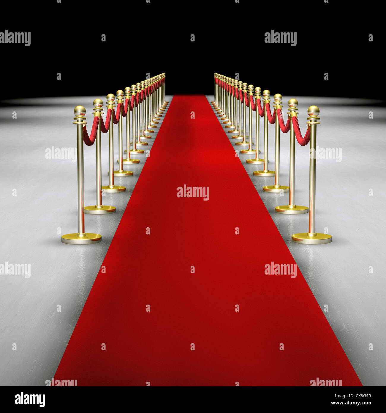Roter Teppich Mit Absperrung Roter Teppich Mit Absperrung Red Carpet And A Rope Or