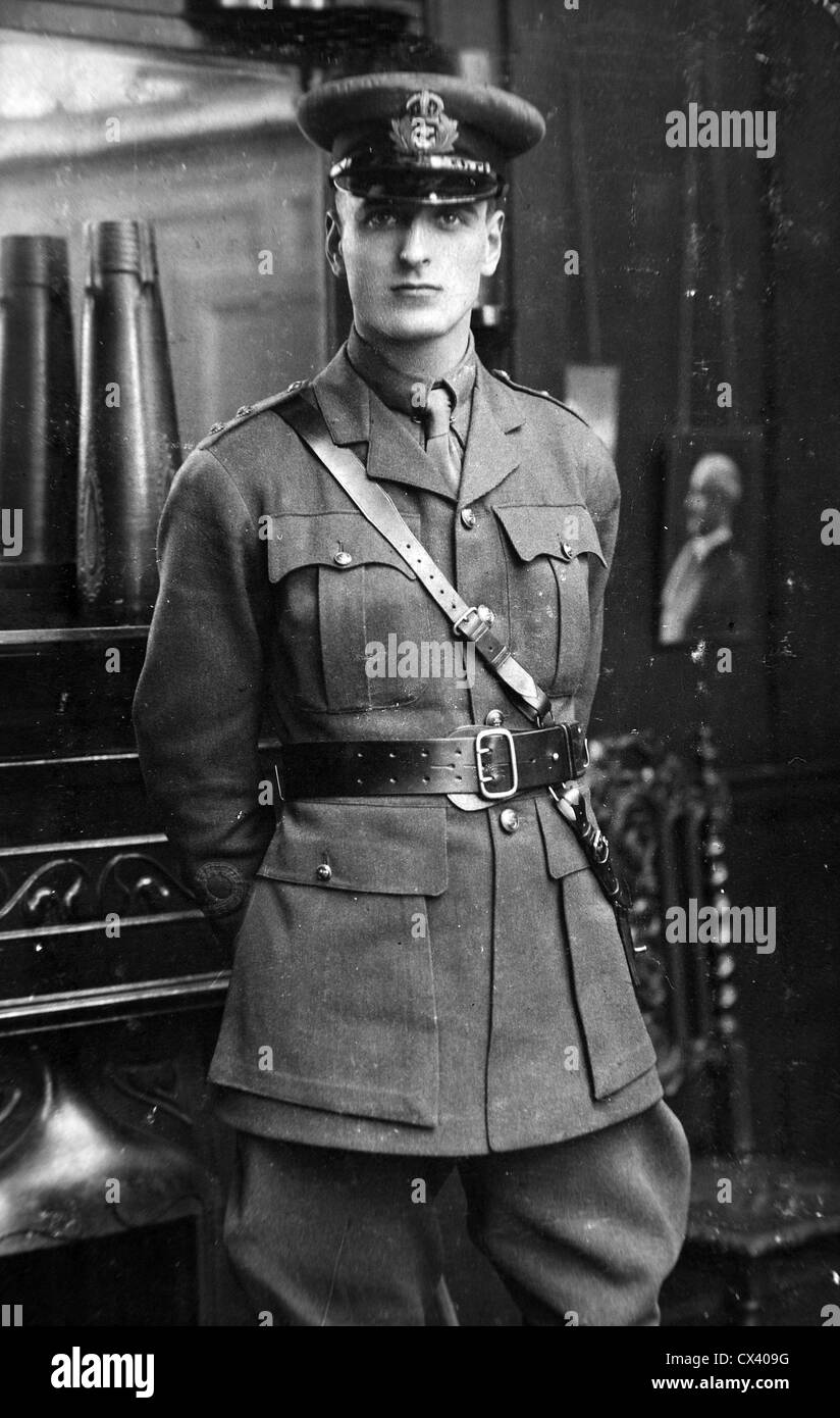 Royal Navy World War One A naval officer of the Royal