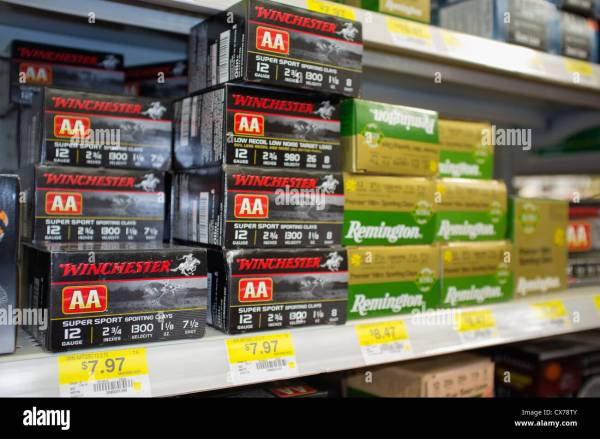 12 Gauge Shotgun Shells Stock &