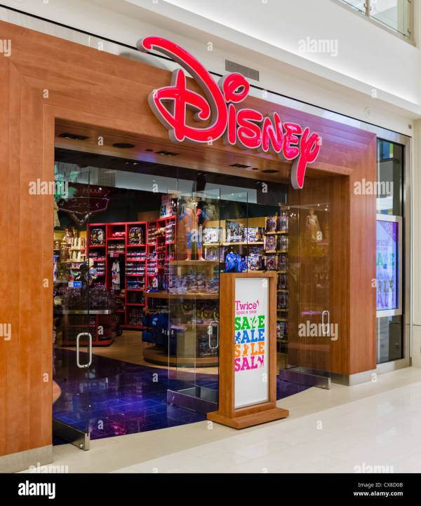 Disney Store In Mall Of America Bloomington Minneapolis Stock 50587611 - Alamy