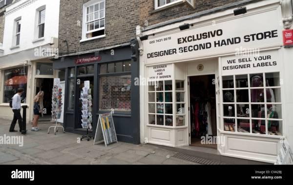 Designer Second Hand Stores