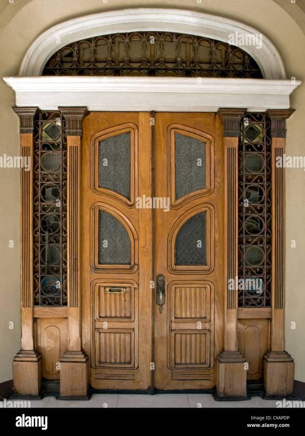 Art Nouveau Style Door