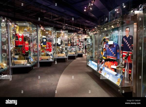Toronto Hockey Hall of Fame Interior