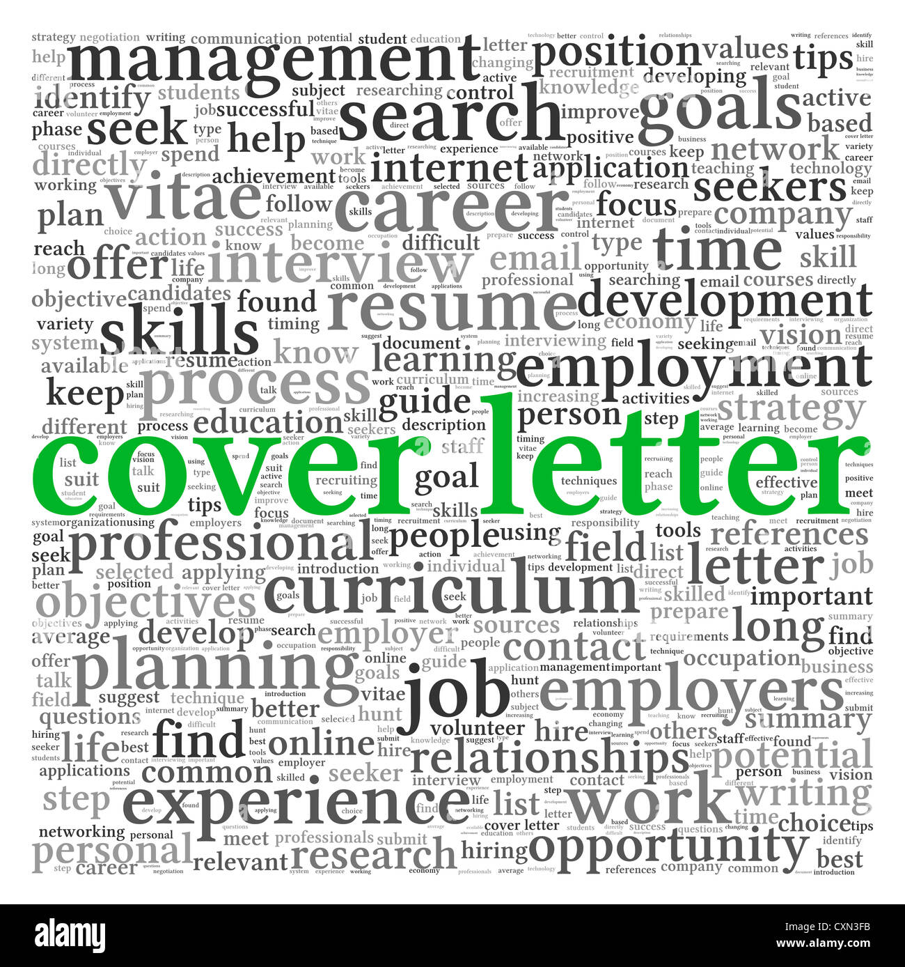 Cover Letter Stock Photos  Cover Letter Stock Images  Alamy