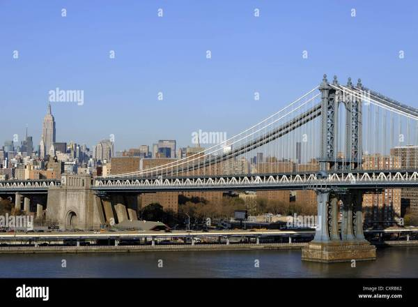 Brooklyn Bridge Manhattan Empire State