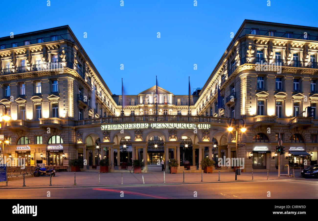 Hotel Frankfurter Hof Steigenberger Kaiserplatz Square