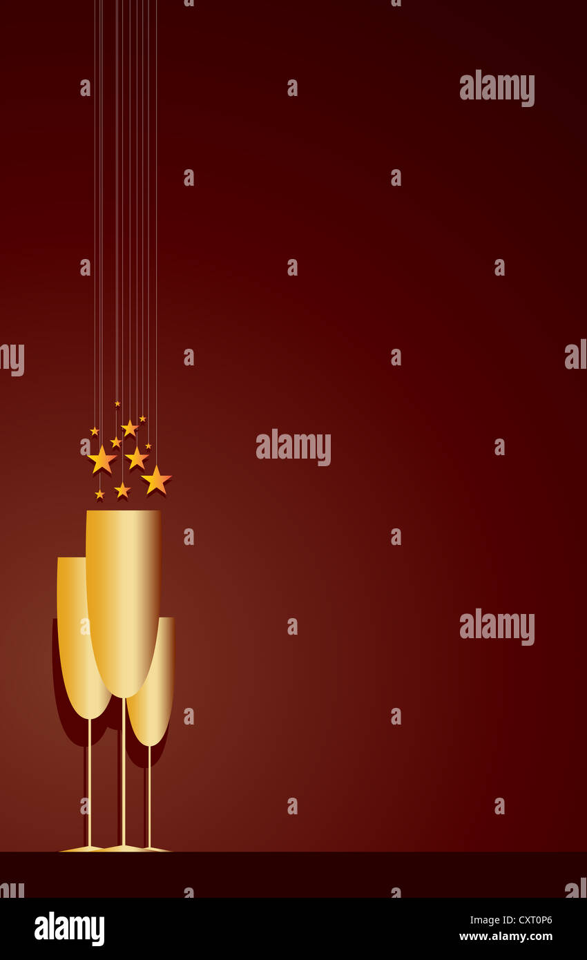 Adjust the backgrounds, stickers, and texts as you like. Vector Background Of Cocktail Party Invitation Stock Photo Alamy