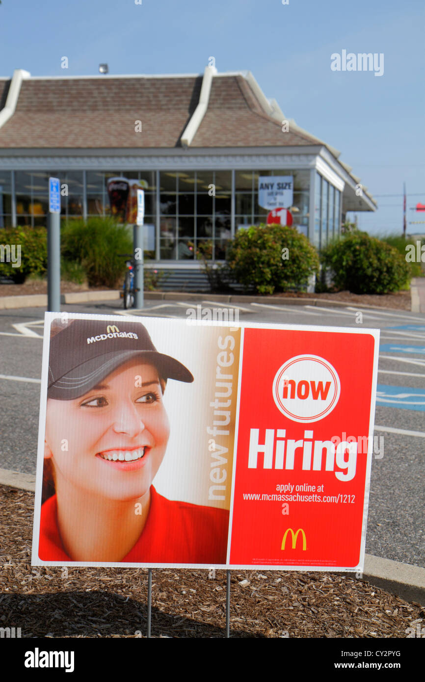 Fast Food Restaurants Are Hiring