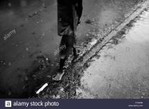Barefoot Homeless Stock &