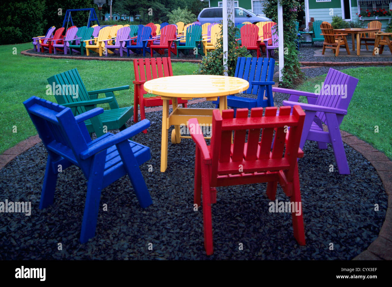 Colorful Wooden Chairs Wood Chair Manufacturing Stock Photos And Wood Chair