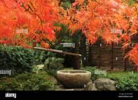 Portland Japanese Garden in Autumn, Portland, Oregon, USA ...
