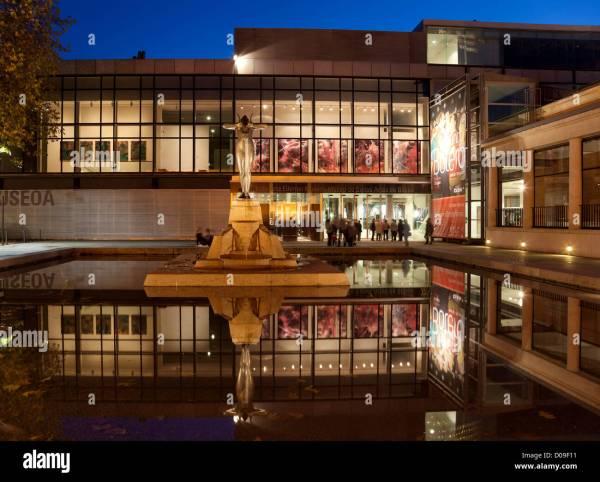 Museum Of Fine Art Bilbao Stock &