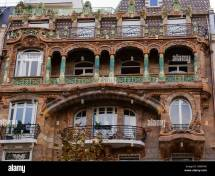 Building Art Nouveau Avenue Rapp Paris