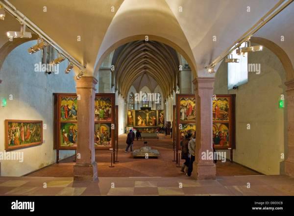 France Alsace Colmar Unterlinden Museum Isenheim Altarpiece Stock 51919179 - Alamy