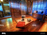 Traditional Japanese living room with fire pit Stock Photo ...