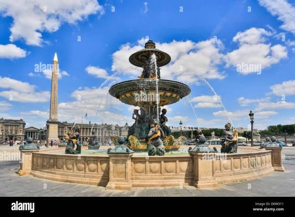France Europe Travel Paris City Concorde Square
