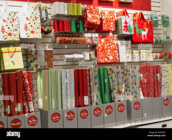 Christmas Holiday Gift Wrapping Display The Container