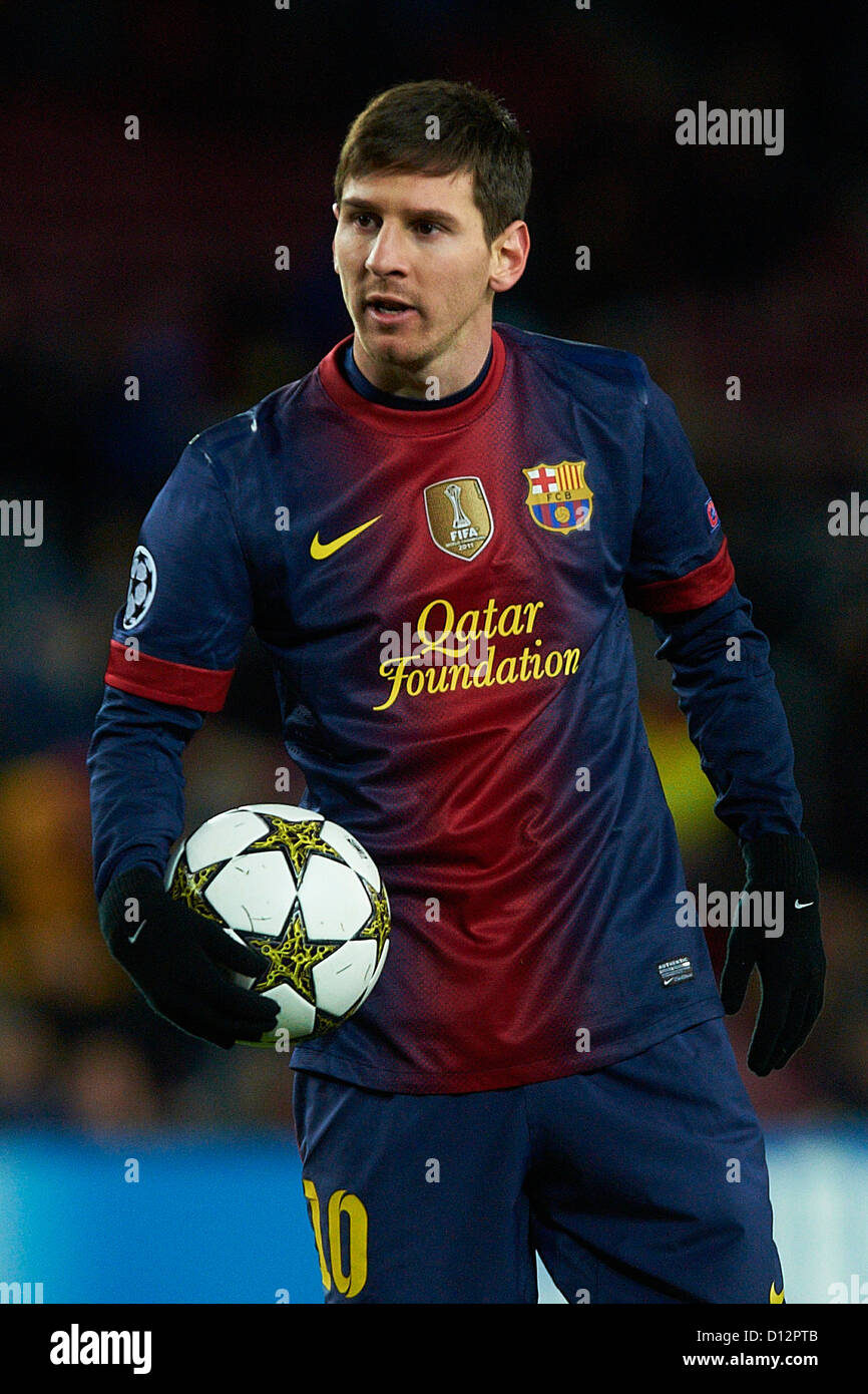 Messi 2012 : messi, Lionel, Messi, Barcelona),, During, Champions, League, Soccer, Match, Stock, Photo, Alamy