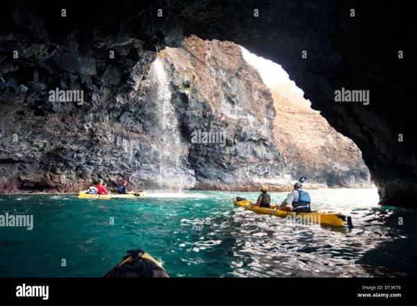Na Pali Coast Kauai Sea Caves