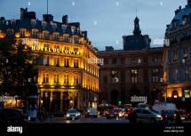 Grand Hotel Du Louvre Place Palais-royal Night