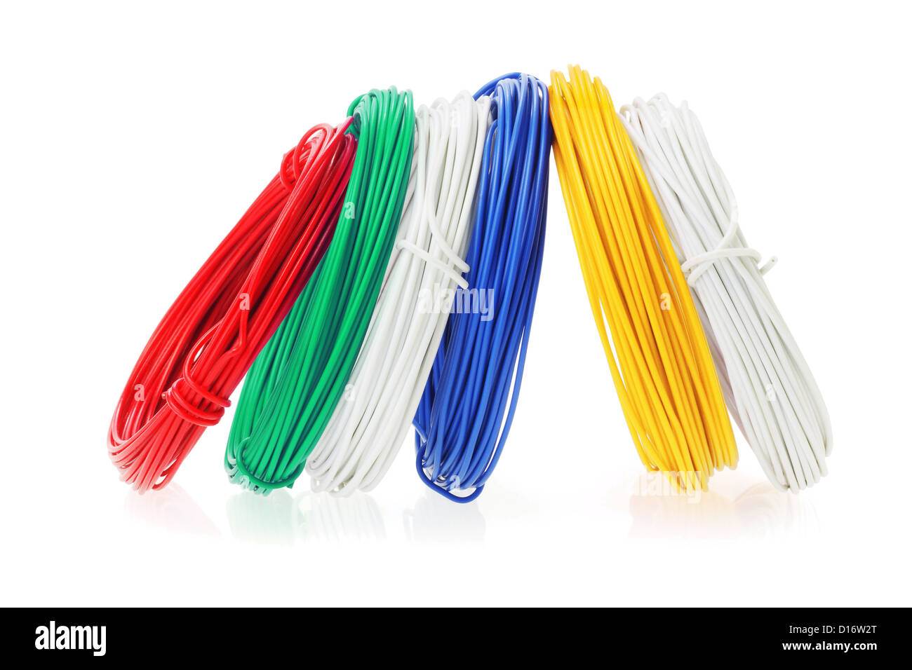 Coils Of Wire Plastic Stock Photos Amp Coils Of Wire Plastic