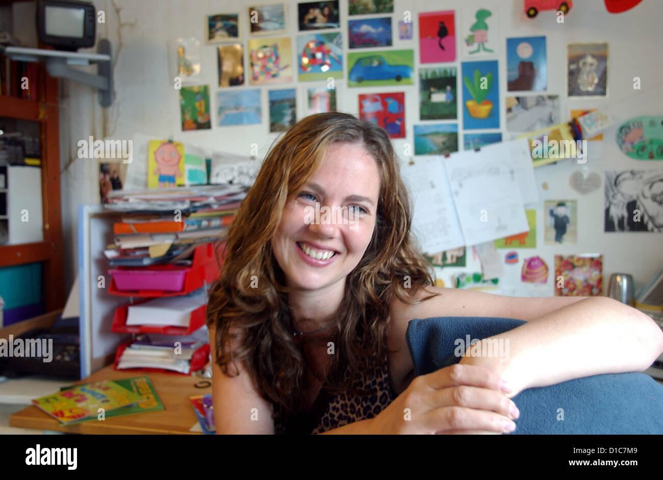 Childrens Book Author And Illustrator Sam Lloyd At Her