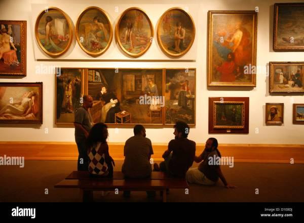 Pinacoteca Estado State Art Sao Paulo Brazil South Stock Royalty Free