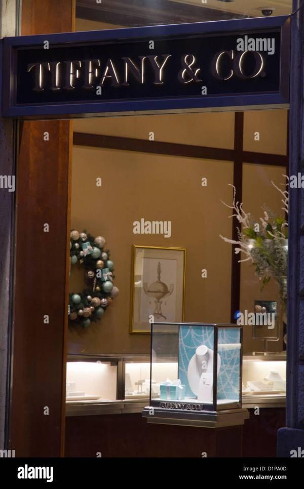 Tiffany Window Shopping