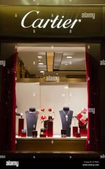 Cartier Window Store Jewelry Showcase Condotti Rome