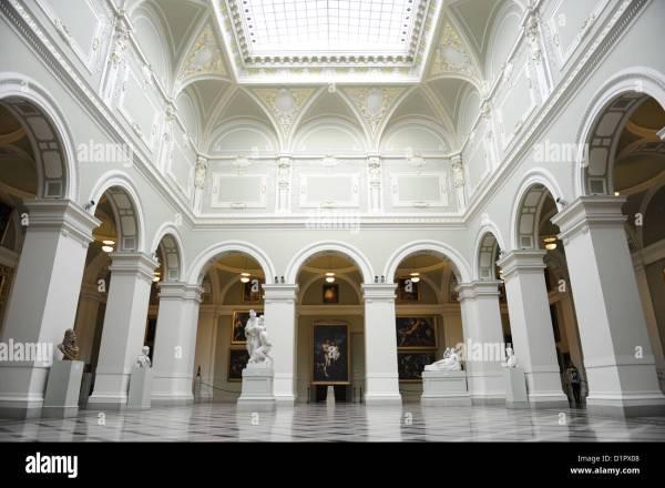 Museum Fine Arts Budapest Hungary Stock &