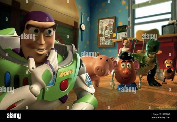 Toy Story 2 - Buzz Lightyear Hamm . Potato Head Bo