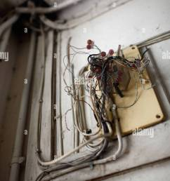 hong kong china broken distribution box for electrical wiring stock image [ 866 x 1390 Pixel ]