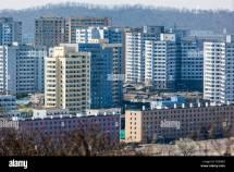 North Korea Apartment Buildings