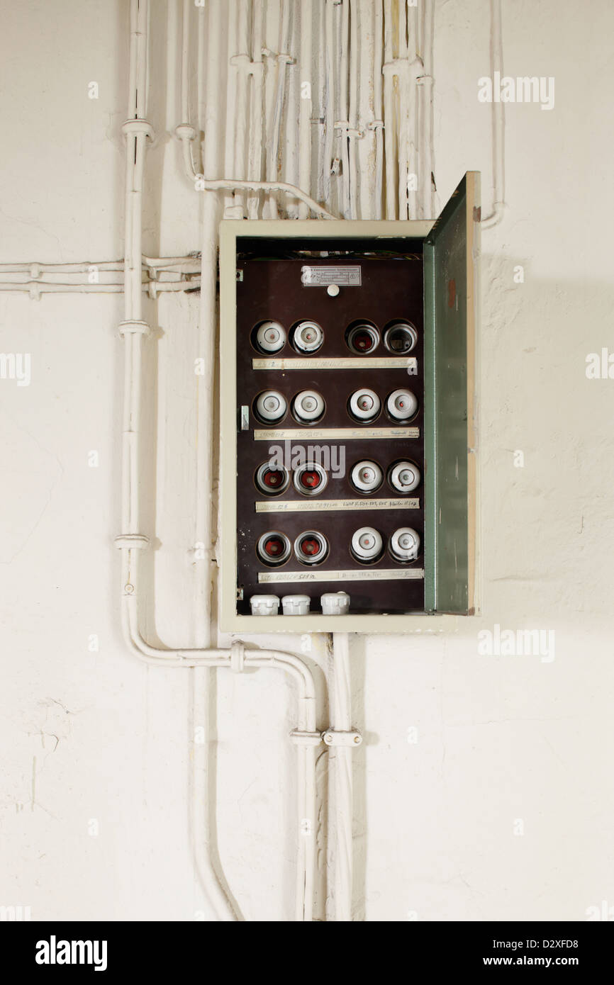 medium resolution of berlin germany fuse box with fuses and power cables