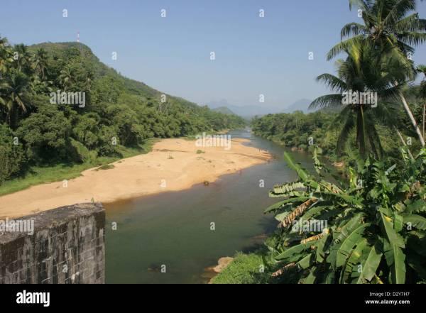 Kitulgala Sri Lanka the Kelani River location of the