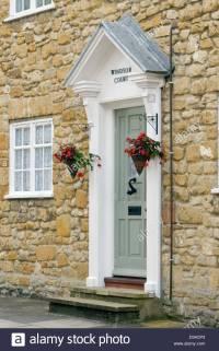Door Pillars & ... Home Exterior Design With Pillars Front ...